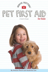 Rescue Critters' Pet First Aid for Kids Book